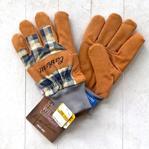 Carhartt women's insulated suede work gloves